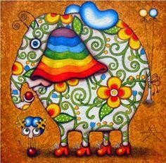Pinzellades al món: Simpàtics animals: il·lustracions dAlyona Krutogolova / Simpàticos animales / Friendly animals: illustrations Alyona Krutogolova