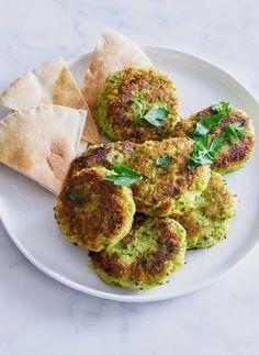 Green Pea & Chickpea Falafel
