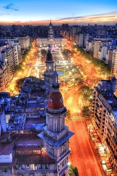 citieslight:  Argentina