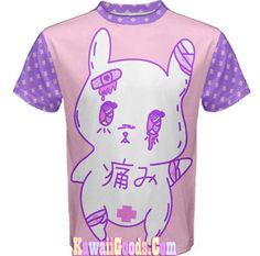 Menhera Painfully Hurt Abby Bunny Shirt ver.1