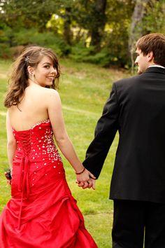 Prom Couple Holding Hands at Azalea Park Brookings, OR  Sara Faith Photography  Redding, CA