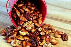 Try making ancho-spiced nuts for the holidays!
