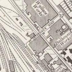 Perth Ordnance Survey Six-inch 1931