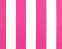 Canopy Candy Pink | Premier Prints stripe