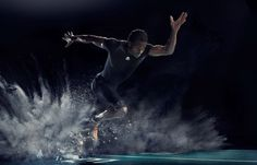Amazing dynamic photos by the London-based photographer Iain Crawford under the theme sport.