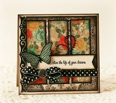 love the color combo--there are a lot more cards on this site including some techniques to try. A little bit of everything here.