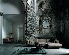 Sofá Living Divani. Designer: Piero Lissoni