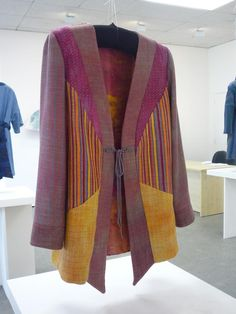 Jacket from Dianne's Loom Talk