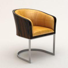 Armani casa classic tub chair