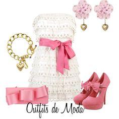 """Estilo Fiesta"" by outfits-de-moda2 on Polyvore"