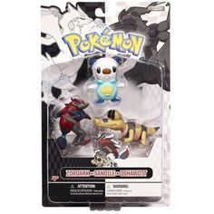Zoroark, Sandile, Oshawott: Pokemon Black And White Mini-Figure Multi-Pack Series 1 -- Click on the image for additional details. (This is an affiliate link) #Playsets
