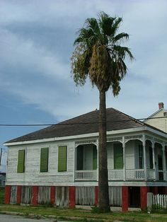 Beautiful Old House, Historic District, Galveston, Texas, July 2010