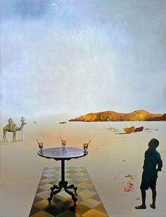 Salvador Dali (1904-1989) | Sun Table (1936) Museum Boijmans Van Beuningen, Rotterdam