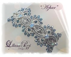 Photo tutorial in PDF to make the bracelet by LilianaPozziDesign
