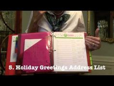 A quick tutorial video to show you just how easy an organized holiday season can be =)  How to Make a #DIY Holiday Planner with GO MOM!