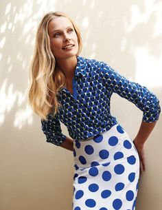 I've+spotted+this+@BodenClothing+Crinkle+Jersey+Shirt+. I LOVE the aqua and green shirt!!