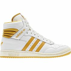 Pro Conference Hi Shoes, Neo White / Legacy / St Goldenrod, zoom