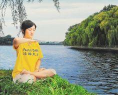 Award-Winning Artist Draws Inspiration from Unusual Experience   Falun Dafa - Minghui.org