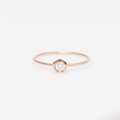 Vale Lily Hexagon Ring