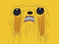 Jake the dog by retro-vertigo on DeviantArt Adventure Time Meme, Adventure Time Wallpaper, Adventure Time Characters, Cartoon Pics, Cute Cartoon, Adventure Time Personajes, Marceline And Princess Bubblegum, Land Of Ooo, Desenhos Cartoon Network