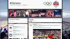 """The London Games have lived up to their hype as the first truly """"social"""" Olympics. #SocialMedia #Olympics2012"""