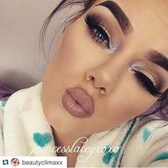 #pretty #gorgeous #beauty #makeup #lashes #eyeshadow #lipstick #nude