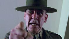 Lee Ermey as Gunnery Sergeant Hartman (Full Metal Jacket, Stanley Kubricks Full Metal Jacket, Texas Chainsaw Massacre, Stanley Kubrick, Mississippi, R Lee Ermey, Drill Instructor, Cinema Tv, Military Diet, Classic Literature