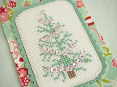 """""""O Tannenbaum, o tannenbaum, how lovely are your branches.""""      I started this week's t..."""