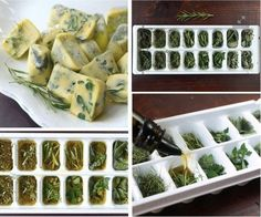 Can be made with melted butter or olive oil. Add to any type of food! Potatoes etc.