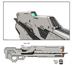 Halo 4 Art & Pictures,  Railgun