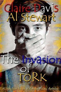 My Fiction Nook - 4 stars for The Invasion of Tork by Claire Davis and Al Stewart (Boughs of Evergreen anthology).