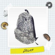 PLECAK fullprint DOLAR