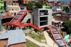 San Javier Escalators @ Comuna 13 Medellín