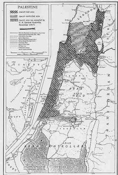 Map of Military Situation On Effective Date of Cease-Fire (June 1948) | Jewish Virtual Library