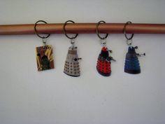 Doctor Who Dalek Large  Knitting Stitch Markers