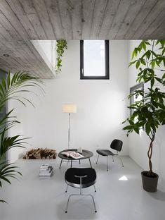 concrete floor minimal