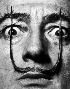 Philippe HALSMAN :: Salvador DALI, 1954 Philippe HALSMAN :: Salvador DALI's mustache, 1954 related post here, more [+] by P. Halsman