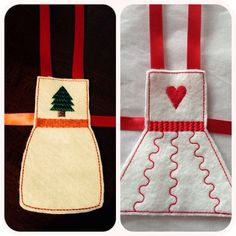 Elf on the Shelf felt apron clothing by NoniesCustomCreation, $5.50