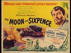 The Moon and Sixpence, 1943 (Soberbia) Obra adaptada da vida Paul Gauguin. Paul Gauguin, Friedrich Nietzsche, Herbert Marshall, Somerset Maugham, War Film, Film Books, Dory, Good Movies, Golden Age