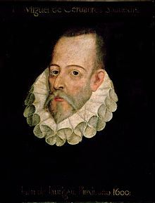(Alcalá de Henares, 1547-1616) Miguel de Cervantes Saavedra (1547-1616), dramaturgo, poeta y novelista español, autor de la novela El ingenioso hidalgo don Quijote de la Mancha, considerada como la...