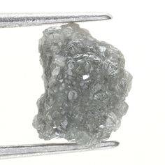 1.02 Ct Natural Loose Diamond Raw Rough Grayish Color Irregular Shape