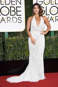 Gina Rodriguez Dress: Naeem Khan Celebrity Red Carpet, Celebrity Dresses, Celebrity Style, Ellie Saab, Dolce & Gabbana, Tom Ford, Roaring 20s Fashion, Versace, Marc Jacobs