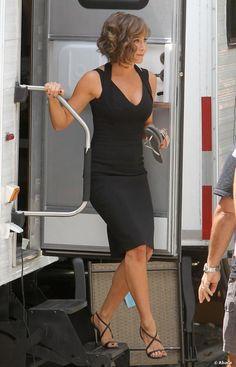 Jennifer Aniston est une adepte des sandales qu'elles portent au quotidien et même sur tapis rouge.