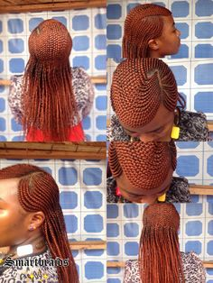 Ghana cornrows