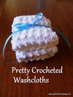 Joyful Homemaking: 2 Easy Crocheted Gifts