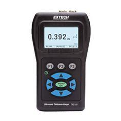 http://termometer.dk/specialmaler-r13485/tykkelses-och-hardhedsmaler-r13518/digital-ultrasonic-tykkelse-gauge-53-TKG100-r35448  Digital Ultrasonic Tykkelse Gauge  Måleområde Vidvinkel:  5 MHz probe: 1 mm til 510 mm stål  10MHz sonde: 0,5 mm til 510 mm af stål (ekstraudstyr)  Sollys læsbar dot-matrix display med baggrundslys  Flere transducer muligheder for høj temperatur og vanskelige at måle materialer  Hurtigt mindste funktion til at fange mindstetykkelser  Komplet med 6 cl flaske koblings
