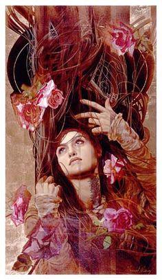 Seven Roses by Manuel Nunez