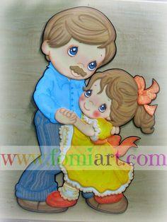 Junio: Día del Padre, papá e hija bailando | Fomiart
