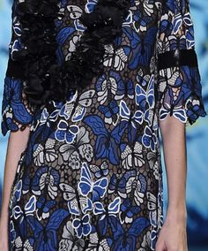 patternprints journal: PRINTS, PATTERNS, TEXTURES, DETAILS FROM NEW YORK CATWALKS (WOMENSWEAR S/S 2016) / Anna Sui
