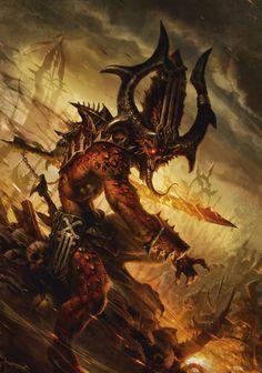 Chaos (Wh 40000),Warhammer 40000,warhammer40000, warhammer40k, warhammer 40k, ваха, сорокотысячник,фэндомы,khorne